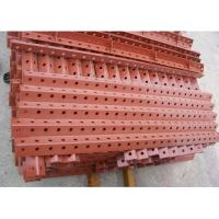 Buy cheap Durable Professional 100 * 100 * 600mm Steel Formwork For Highways , Railways , Bridges , Tunnels product