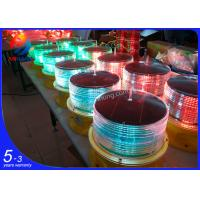Buy cheap AH-LS/C-1   solar energy marine tri-color led flashing beacon from wholesalers