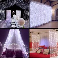 Buy cheap LED Wedding fairy Light christmas garland LED Curtain string Light outdoor new year Birthday Party Garden Decoration product