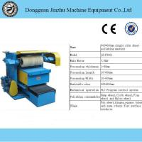 Buy cheap Industrial Metal Linishing Machines Mirror Polishing Higher Production from wholesalers