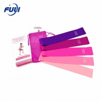 Buy cheap Thickness 0.35 0.5 0.7 0.9 1.1mm Resistance Loop Bands For Yoga from wholesalers