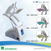 Buy cheap PDT LED Blue And Red Light Therapy Devices For Blood Vessels Removal from wholesalers