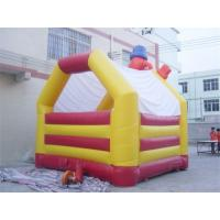 Buy cheap Funny Happy Clown Commercial Inflatable Bouncers / moon bounce For Rent from wholesalers