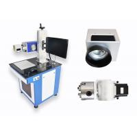Buy cheap Galvo Desktop CO2 Laser Marking Machine For Leather Hide Cloth Wood Acrylic Denim from wholesalers