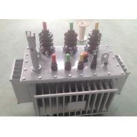 Three Phase Oil Immersed Transformer 10 KV - 35 Kv Transformer OEM / ODM Available