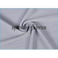 Buy cheap Pure Grey Comfortable Supplex Lycra Fabric Moisture Wicking Eco Friendly from wholesalers