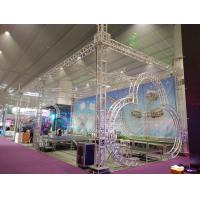 Buy cheap Exhibtion Booth Or Stage Lighting Truss , 290mm or 300mm Aluminum Square Bolt Truss from wholesalers