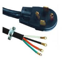 Buy cheap NEMA 14 - 30P 2m 4 Prong Dryer Cord Plug 30 Amp 125v For Desiccator from wholesalers