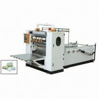 Buy cheap Box-drawing Face Tissue Machine, V-fold Facial Tissue Machine from wholesalers
