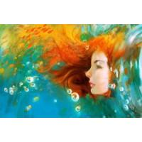 Buy cheap Oil Painting-Girl Face from wholesalers