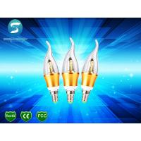 Buy cheap High Lumen SMD LED Candle Light Bulbs Warm White 180° Beam Angle from wholesalers