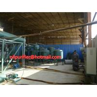 Buy cheap Automobile Car Oil Recycling System,Engine Oil Vacuum Distillation System and  Purifying Equipment from wholesalers