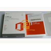Buy cheap Genuine Microsoft Office Professional 2016, Home And Business 2016 For 32 / 64 Bit COA Sticker Label from wholesalers