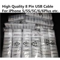 Buy cheap Apple iPhone 5 5s 5c 6 6plus iPad mini air air2 8 Pin Lighting USB Cable Data Sync Cords product