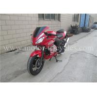 Buy cheap 5 Speed Electric Kick Road Racing Motorcycles , Street Racing Motorbikes OEM from wholesalers