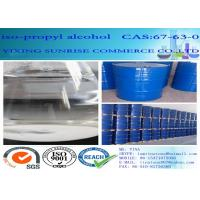 Buy cheap CAS 67-63-0 Iso Propyl Alcohol Organic Compound C3H8O Clear Colorless Liquid from wholesalers