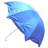 Buy cheap Full color printing promotional advertising plastic handle umbrella from wholesalers
