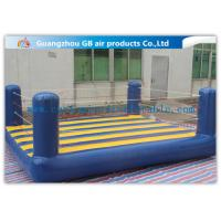 Buy cheap Custom Sports Bouncy Boxing Inflatable Wrestling Ring For Adult / Kids product