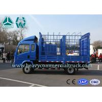 Buy cheap HOWO 4×2 Stake Type Light Cargo Truck With Four Independent Braking System from wholesalers