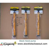 Buy cheap Closeout,stocklot,excess inventory,liquidators,surplus,overstock Hand pump from wholesalers