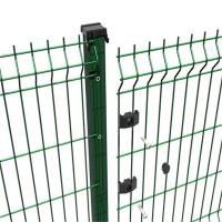Buy cheap Galvanized And Powder Coated Wire Mesh Fencing Of 3D Welded Wire Mesh Panel from wholesalers