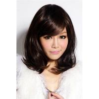 Buy cheap 100% synthetic human hair wigs virgin lace wigs instock supplier from wholesalers