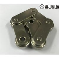 Buy cheap Nickel Plated Double Pitch Roller Chain Straight Plate With High Tensile Strength from wholesalers