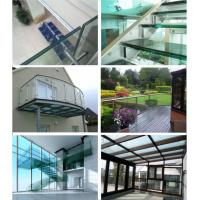 Buy cheap Home Glass Reinforced Laminate / Decorative Laminated Glass Storm Windows from wholesalers