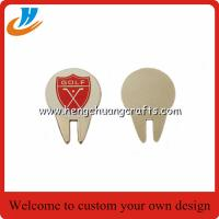 Buy cheap Personalized golf divot repair tool/Zinc alloy golf accessories from wholesalers