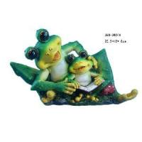 Buy cheap Resin Garden Frog Ornament from wholesalers