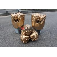 Buy cheap High Efficiency 9 inch 229mm IADC545 Gold Color Tricone Drill Bit For Mining from wholesalers