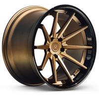 Buy cheap 5*108 5*110 2 piece forged 5 stud alloy aluminum rim wheel from wholesalers