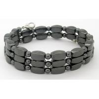 Buy cheap Fashion good for health various color hematite magnetic bracelet health product