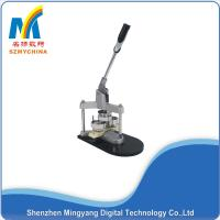 Buy cheap Manual Metal Button Making Machine 44mm Mould For Keyring Mirror Badge from wholesalers