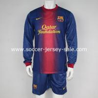 Buy cheap 12/13 barcelonia home long sleeve from wholesalers