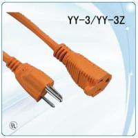 Buy cheap 125V colorful UL plug round wire extension leads from wholesalers