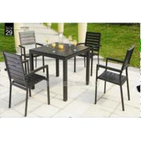 Buy cheap Outdoor / Indoor Patio Garden Furniture Sets , Garden Table And 4 Chairs from wholesalers