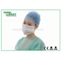 Buy cheap ESD 3 Ply Face Mask White Anti Static disposable dust masks with Ear Loop from wholesalers