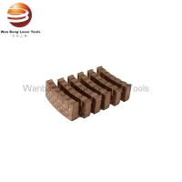 Buy cheap New Design Diamond Segment for Core Drill Bit Silver Brazing and Retipping from wholesalers