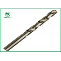 Buy cheap Bright Finish HSS Drill Bits For Hardened Steel DIN 338 Straight Shank Left Hand from wholesalers