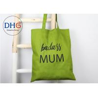 Buy cheap 12 Oz Cotton Canvas Tote Bag , Blank Tote Bags Durable Hand Strap Wear Resistant from wholesalers