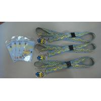 Buy cheap Silk - Screen LOGO Woven Fabric Bracelet  Leather Wrist Bands For Men from wholesalers