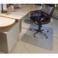 Buy cheap Antistatic Rolling Computer Chair Floor Mat , Transparent Or Custom Size from wholesalers