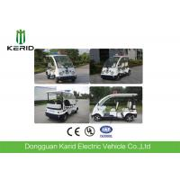 Buy cheap Small Street Legal Electric Security Patrol Vehicles 4 Passengers Four Wheeler from wholesalers