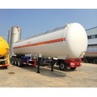 Buy cheap 50cbm 3 axle lpg transport tank pressure vessel / tank semi trailer for phillipine from wholesalers