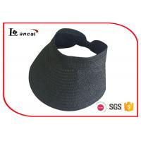 Buy cheap Black Packable Straw Sun Hat from wholesalers