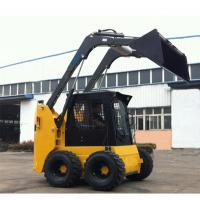 Buy cheap High Output Front End Loader Machine 950KG Rated Load Skid Steer Loader from wholesalers