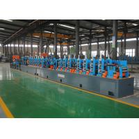 Buy cheap High Precision ERW Tube Mill / Straight Seam Welded ERW Pipe Mill Machine from wholesalers