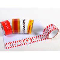 Buy cheap Colored Tough Custom Printed Packing Tape For Marking / Sealing from wholesalers