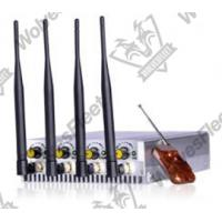 Buy cheap 10W cell phone GSM 3G 4G jammer Portabe signal Blocker from wholesalers